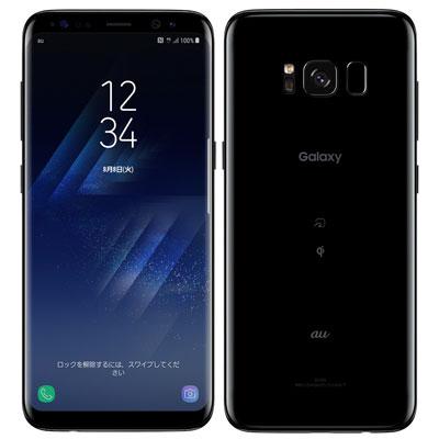 中古 【SIMロック解除済】Galaxy S8 SCV36 Midnight Black au スマホ 白ロム 本体 送料無料【当社3ヶ月間保証】【中古】 【 携帯少年 】