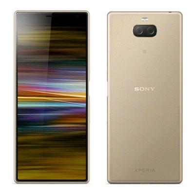 新品 未使用 Sony Xperia 10 Plus Dual I4293 [Gold 6GB 64GB 海外版] SIMフリー スマホ 本体 送料無料【当社6ヶ月保証】【中古】 【 携帯少年 】