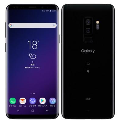 中古 【SIMロック解除済】Galaxy S9+ SCV39 Midnight Black au スマホ 白ロム 本体 送料無料【当社3ヶ月間保証】【中古】 【 携帯少年 】