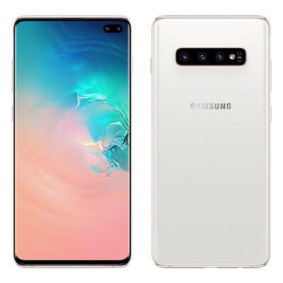 新品 未使用 Samsung Galaxy S10 Plus Dual-SIM SM-G9750 【8GB 512GB Ceramic White 香港版】 SIMフリー スマホ 本体 送料無料【当社6ヶ月保証】【中古】 【 携帯少年 】