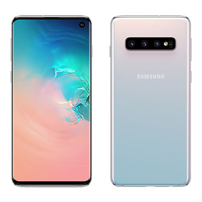 中古 Samsung Galaxy S10 Dual-SIM SM-G9730 【8GB 128GB Prism White 香港版】 SIMフリー スマホ 本体 送料無料【当社3ヶ月間保証】【中古】 【 携帯少年 】