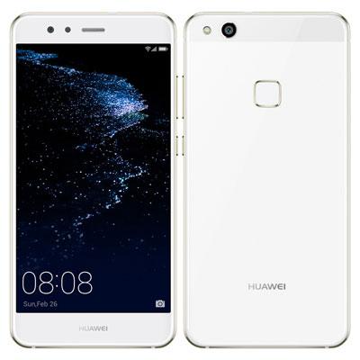 中古 Huawei P10 lite WAS-LX2J (HWU32) Pearl White【J:COM版】 SIMフリー スマホ 本体 送料無料【当社3ヶ月間保証】【中古】 【 携帯少年 】