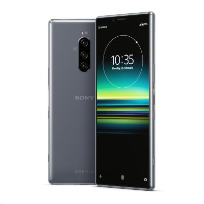 中古 Sony Xperia1 Dual J9110 [Grey 6GB 128GB 香港版] SIMフリー スマホ 本体 送料無料【当社3ヶ月間保証】【中古】 【 携帯少年 】