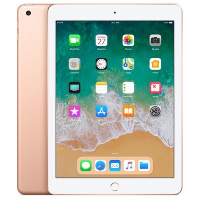 Apple 白ロム 正規品 本体 中古 送料無料 赤ロム永久保証 当社3ヶ月間保証 SIMロック解除済 第6世代 A1954 32GB 中古スマホとタブレット販売の携帯少年 ゴールド MRM02J iPad2018 A au 100%品質保証! Wi-Fi+Cellular