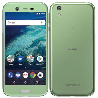 中古 Android One X1 ミントグリーン Y!mobile スマホ 白ロム 本体 送料無料【当社3ヶ月間保証】【中古】 【 携帯少年 】