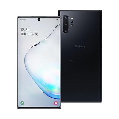 SAMSUNG 白ロム スマホ 通販 本体 中古 送料無料 赤ロム永久保証 当社3ヶ月間保証 Samsung Galaxy 中古スマホとタブレット販売のイオシス SM-N975C 今ダケ送料無料 版 Black SIMフリー Aura Plus 256GB Note10+ 12GB