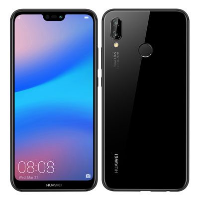 中古 Huawei P20 lite ANE-LX2J Midnight Black【Y!mobile版】 SIMフリー スマホ 本体 送料無料【当社3ヶ月間保証】【中古】 【 携帯少年 】
