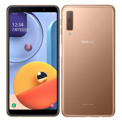 中古 Samsung Galaxy A7 SM-A750C Gold 【版】 SIMフリー スマホ 本体 送料無料【当社3ヶ月間保証】【中古】 【 携帯少年 】