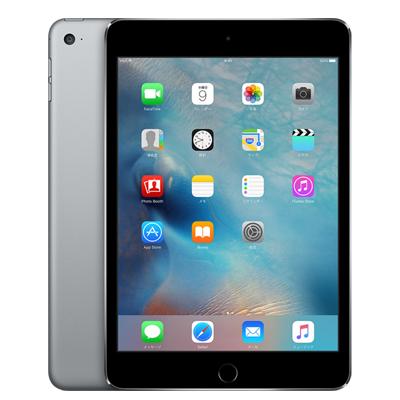 中古 【SIMロック解除済】【第4世代】iPad mini4 Wi-Fi+Cellular 128GB スペースグレイ MK762J/A A1550 au 7.9インチ タブレット 本体 送料無料【当社3ヶ月間保証】【中古】 【 携帯少年 】
