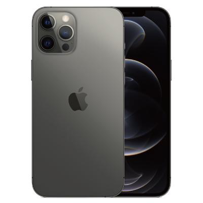 未使用品 Apple 白ロム スマホ 本体 未使用 送料無料 赤ロム永久保証 当社6ヶ月保証 iPhone12 A2412 Max 中古スマホとタブレット販売の携帯少年 25%OFF 香港版 Pro A 256GB SIMフリー セール特価 グラファイト MGC43ZA