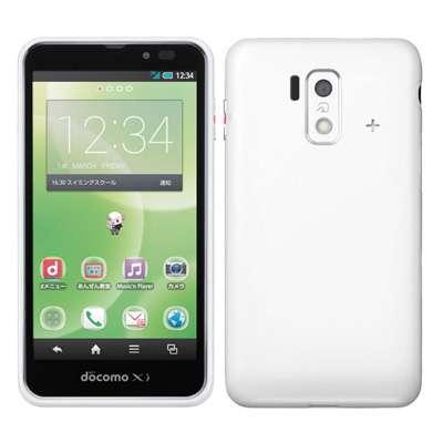小白只读存储器docomo未使用的智能手机for SH-05E白智能手机二手货本体
