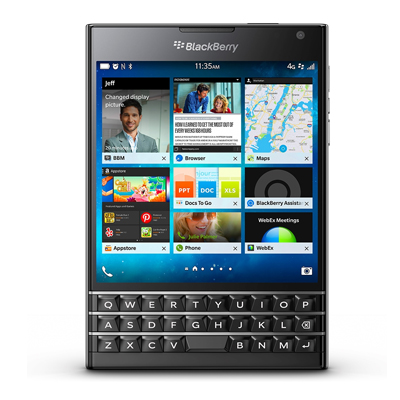 中古 BlackBerry Passport SQW100-1 (RGY181LW) Piano Black【海外版】 SIMフリー スマホ 本体 送料無料【当社3ヶ月間保証】【中古】 【 携帯少年 】