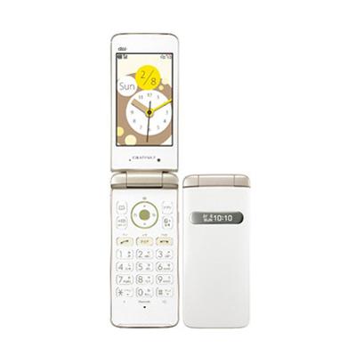 新品 未使用 GRATINA2 White (KYY10SWA) au ガラケー 中古 本体 携帯電話 送料無料【当社6ヶ月保証】【中古】 【 携帯少年 】