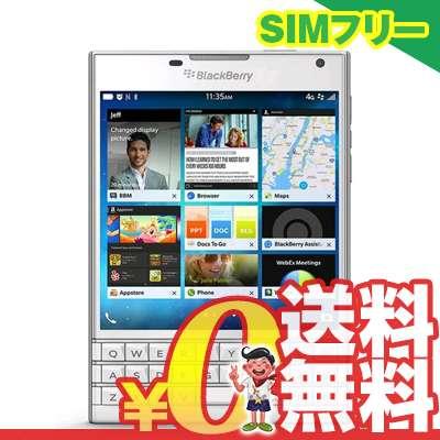 中古 BlackBerry Passport SQW100-1 (RGY181LW) Pure White【海外版】 SIMフリー スマホ 本体 送料無料【当社3ヶ月間保証】【中古】 【 携帯少年 】