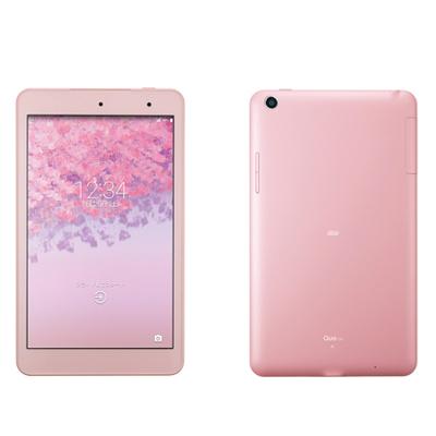 新品 未使用 Qua tab KYT31 Pink au 8.0インチ アンドロイド タブレット 本体 送料無料【当社6ヶ月保証】【中古】 【 携帯少年 】
