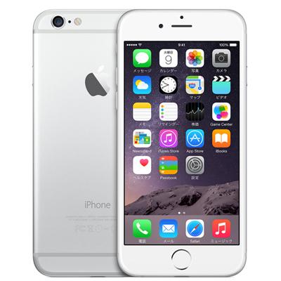 中古 iPhone6 16GB A1586(MG482J/A) シルバー au スマホ 白ロム 本体 送料無料【当社3ヶ月間保証】【中古】 【 携帯少年 】