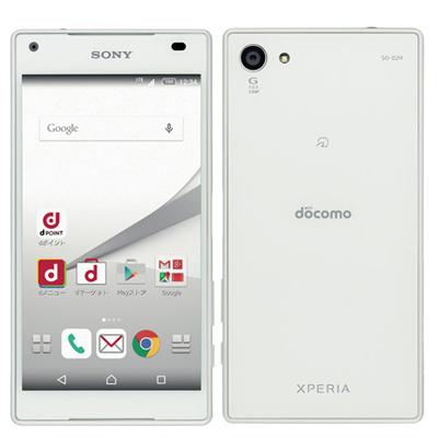 中古 Xperia Z5 Compact SO-02H White docomo スマホ 白ロム 本体 送料無料【当社3ヶ月間保証】【中古】 【 携帯少年 】