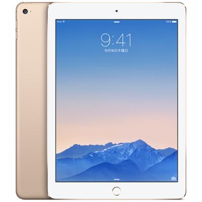 中古 iPad Air2 Wi-Fi Cellular (MH1C2J/A) 16GB ゴールド docomo 9.7インチ タブレット 本体 送料無料【当社3ヶ月間保証】【中古】 【 携帯少年 】