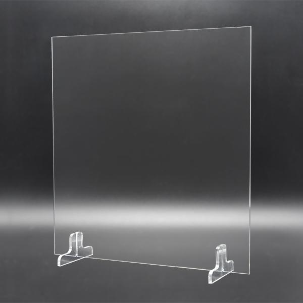 透明アクリルパーテーションコンパクト汎用S[500タイプ-100台セット]