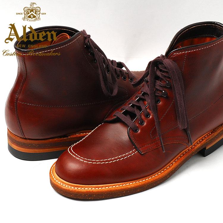 5191ddd17b honey  Alden Men s Indy Boot High Top Blucher Workboot Style    403 ...