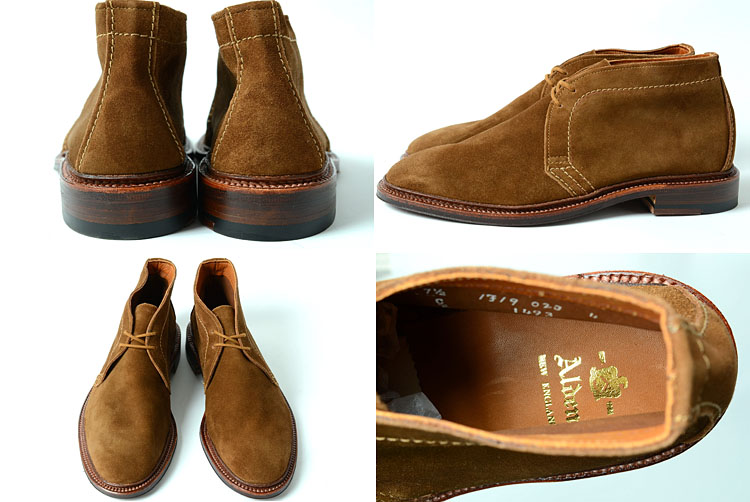 honey | Rakuten Global Market: ALDEN Alden ★ 1493 UNLINED CHUKKA ...