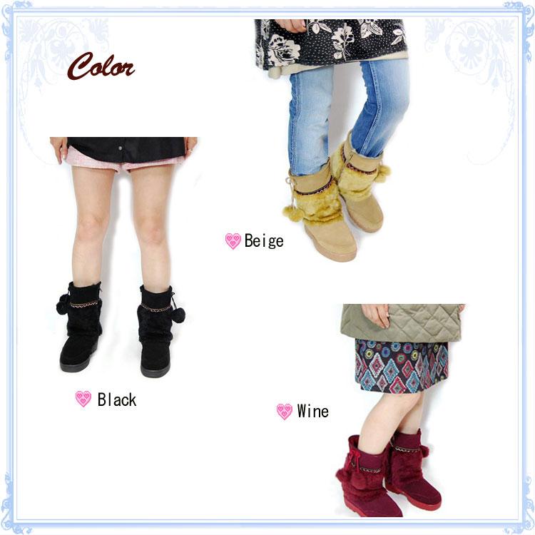 Low-price Banner Barrett Bana Barrett handling! Foggia ★ Pom Pom boots 3 colors