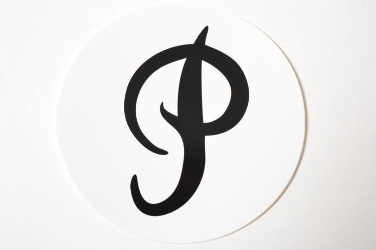 Primitive Sticker プリミティブ スケート ステッカー ホワイト