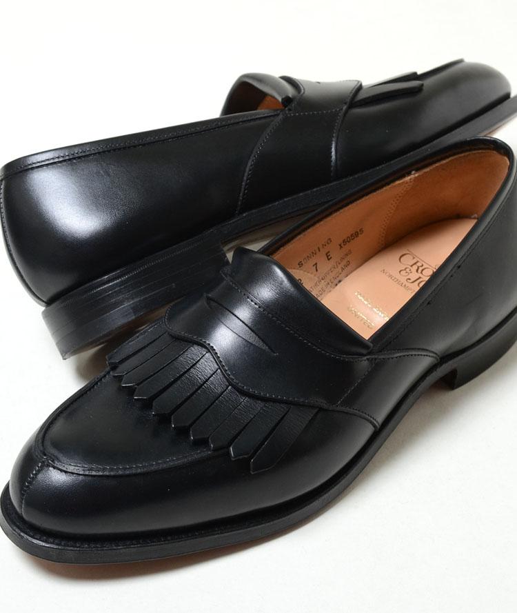CROCKET JONES SONNING クロケット ジョーンズ SONNING ブラック メンズ ローファー 革靴 6340-1015-01