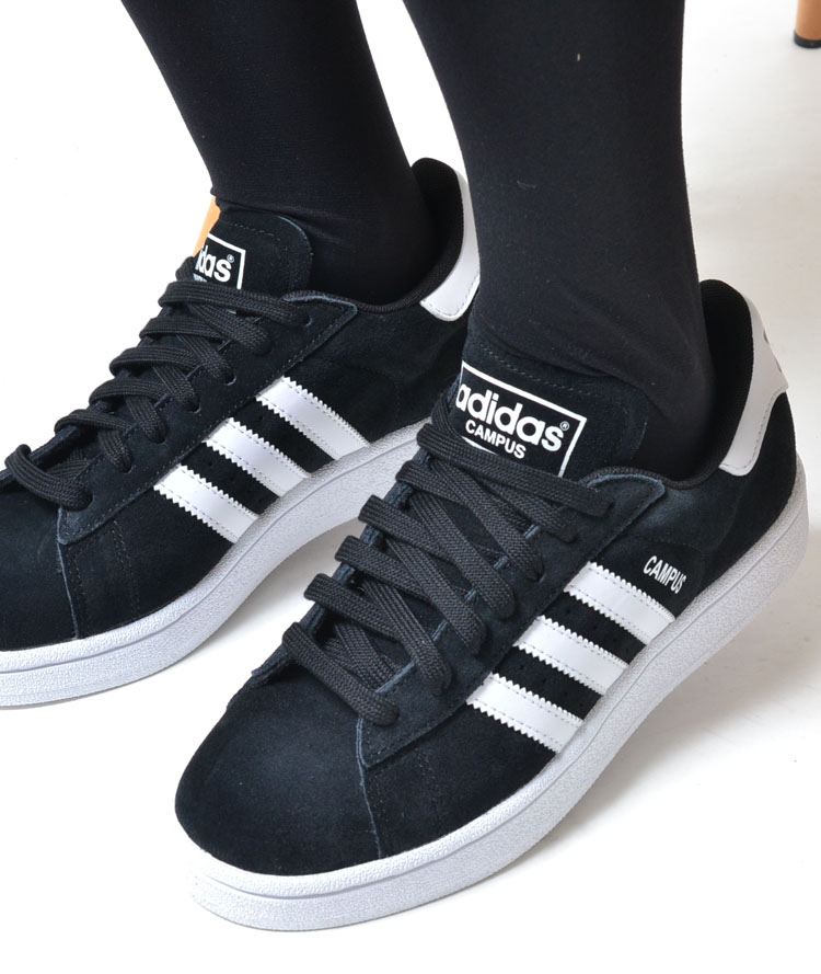 adidas campus women black