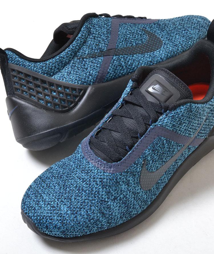 Nike Mens Lunarestoa 2 SE Midnight Navy Black Running Sneaker
