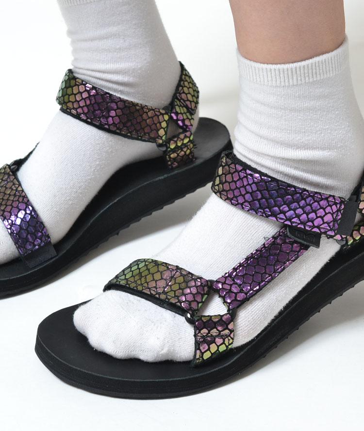 【送料無料】Teva W ORIGINAL UNIVERSAL IRIDESCENT テバ オリジナル ユニバーサル イリデセント パープル レディース サンダル sandal