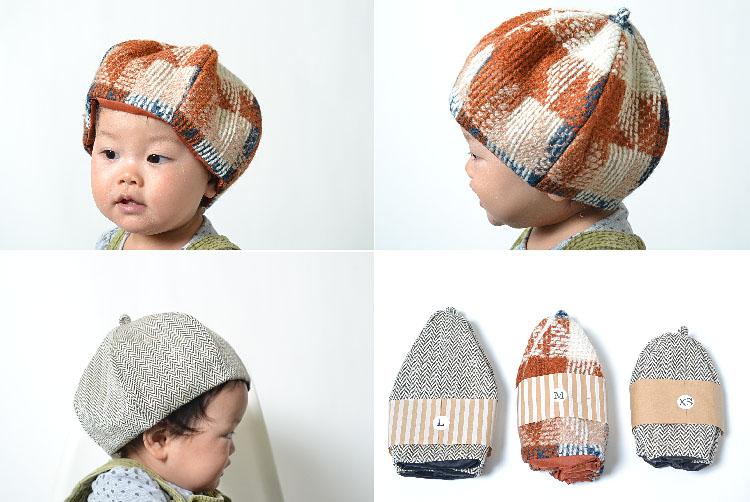a544282373ab3 かわいいベビーのどんぐり帽子ベビー キッズ 子供 帽子 どんぐりニット帽 6パネル ベレー帽 Baby kids