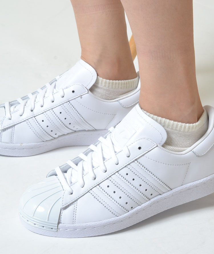 factory price 4b045 c6ee0 ADIDAS SUPERSTAR 80S METAL TOE W Adidas superstar 80s metal cane white  Lady's sneakers