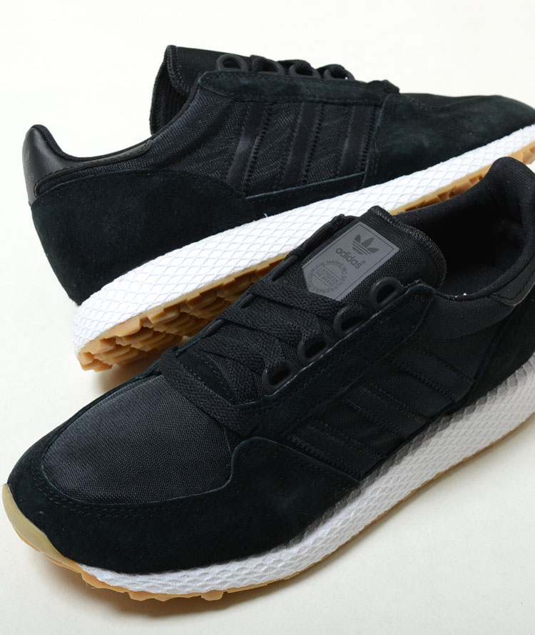 adidas FOREST GROVE Adidas Forest glove black men sneakers cg5673
