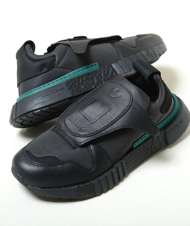 adidas FUTUREPACER アディダス フューチャーペーサー ブラック×グリーン メンズ スニーカー b37266