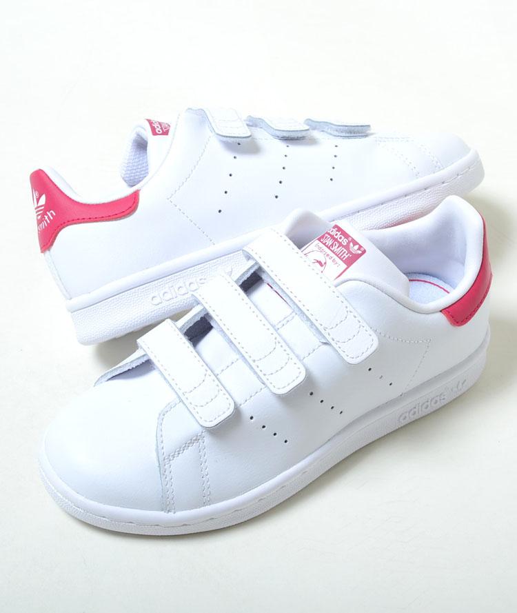【16.5cm-22cm】STAN SMITH CF C アディダス スタンスミス CF C ホワイト キッズ ベビー kids baby スニーカー 子供靴 b32706