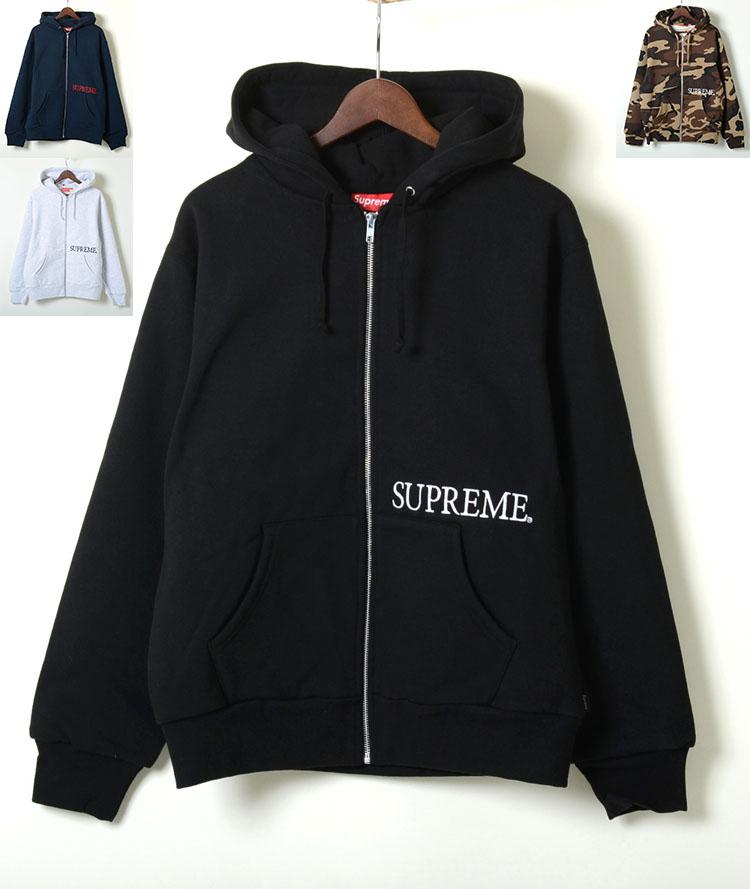 【並行輸入品】Supreme Thermal Zip Up Hooded Sweatshirt シュプリーム サーマル ジップ アップ 全5色