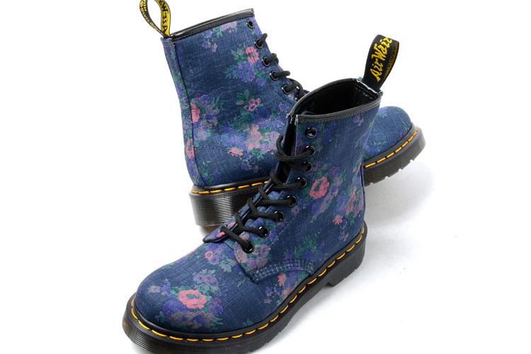 91ed44334e9 ... Dr.Martens CASTEL 8HOLE BOOT DENIM Dr. Martens Castel 8 hole boots  denim floral