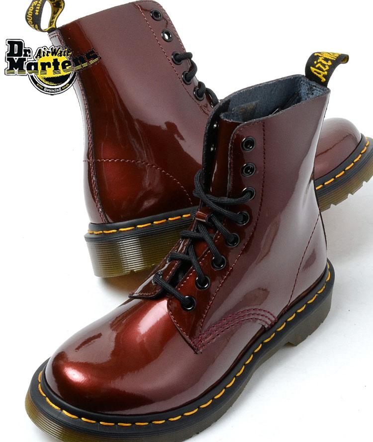 【送料無料】Dr.Martens PASCAL 8HOLE BOOT CHERRY RED ドクターマーチン パスカル 8ホール ブーツ チェリーレッド
