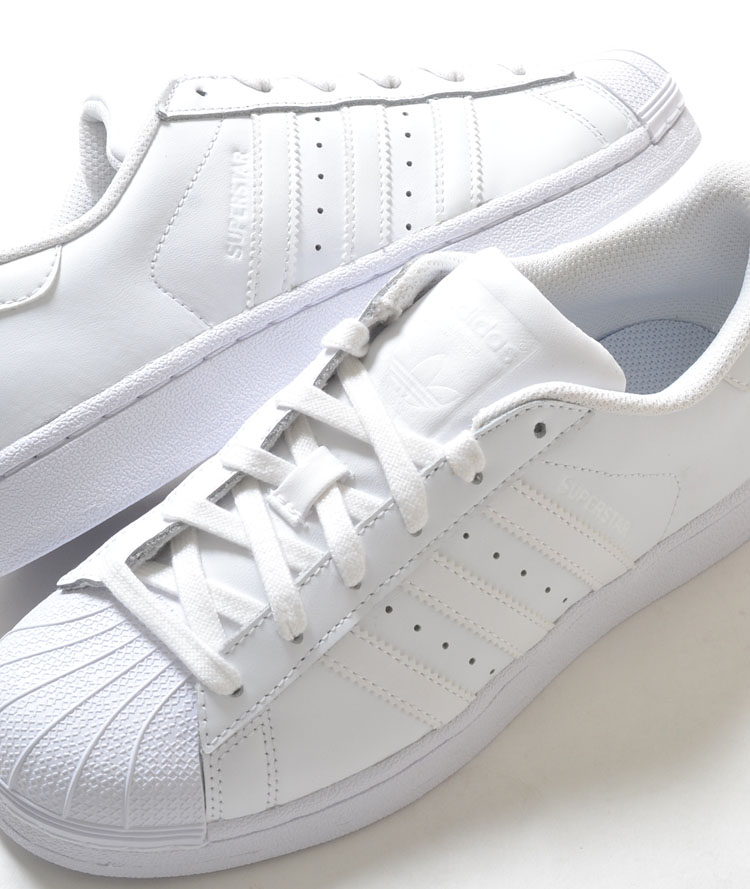 online retailer bf2c6 6cc8f FOUNDATION of ADIDAS SUPERSTAR adidas Superstar Foundation white Womens  sneakers