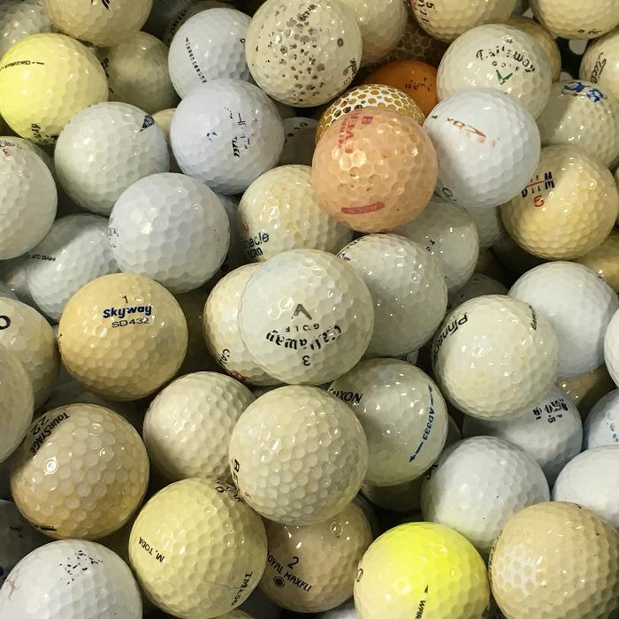 【中古】ブランド混合 5000球【Cランク】【ロストボール】 大量 格安 練習用ボール