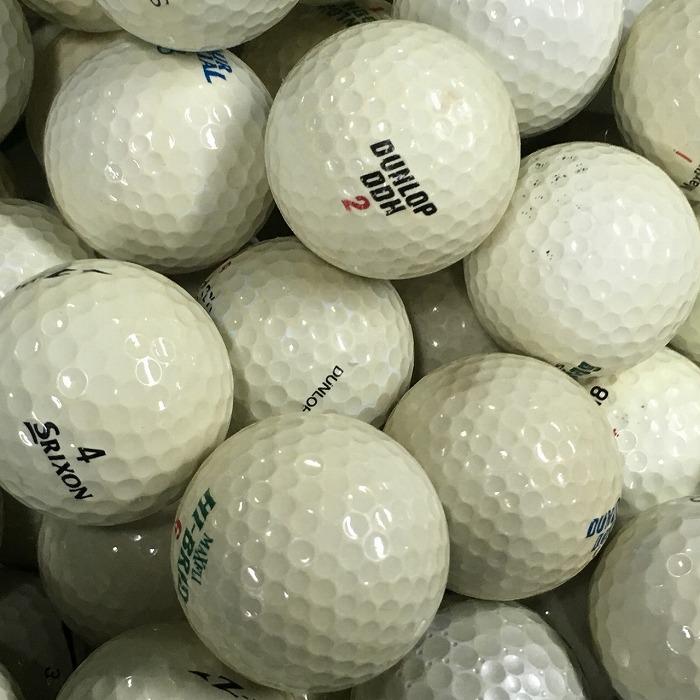 【中古】ブランド混合 5000球【ロストボール】【訳アリBランク】 1球4.5円 練習用ボール