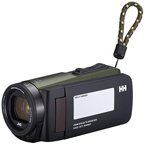 ★JVCKENWOOD HELLY HANSEN×JVC ビデオカメラ Everio R 防水 防塵 32GB スコッググリーン GZ-HH140-GB too