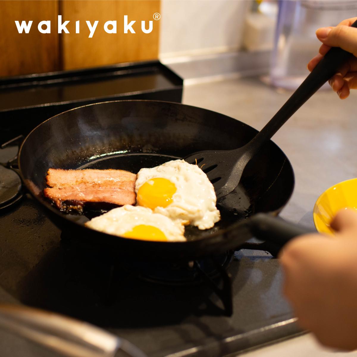 割り引き wakiyaku R シリコン フライ返し シリコーン ターナー ターナーキッチン キッチンツール 耐熱 ブラック おしゃれ 黒 食洗器対応 調理器具ツール 安全 大幅値下げランキング シンプル ネコポス送料無料