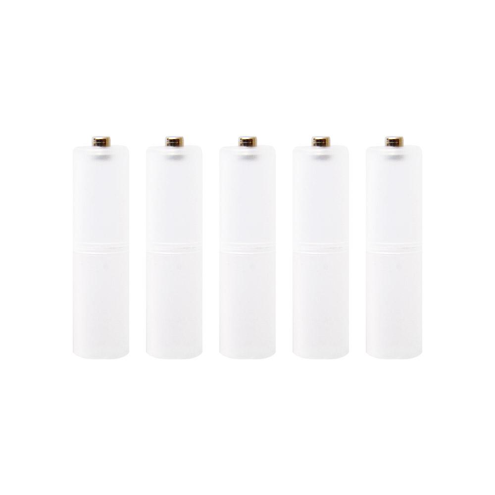 エネループ エネロング アルカリ電池 乾電池 アイテム勢ぞろい 単3電池へ変換 スペーサー 単3 単3形 送料無料激安祭 単3電池 5個入りパック に変換 電池を 電池へ変換単4
