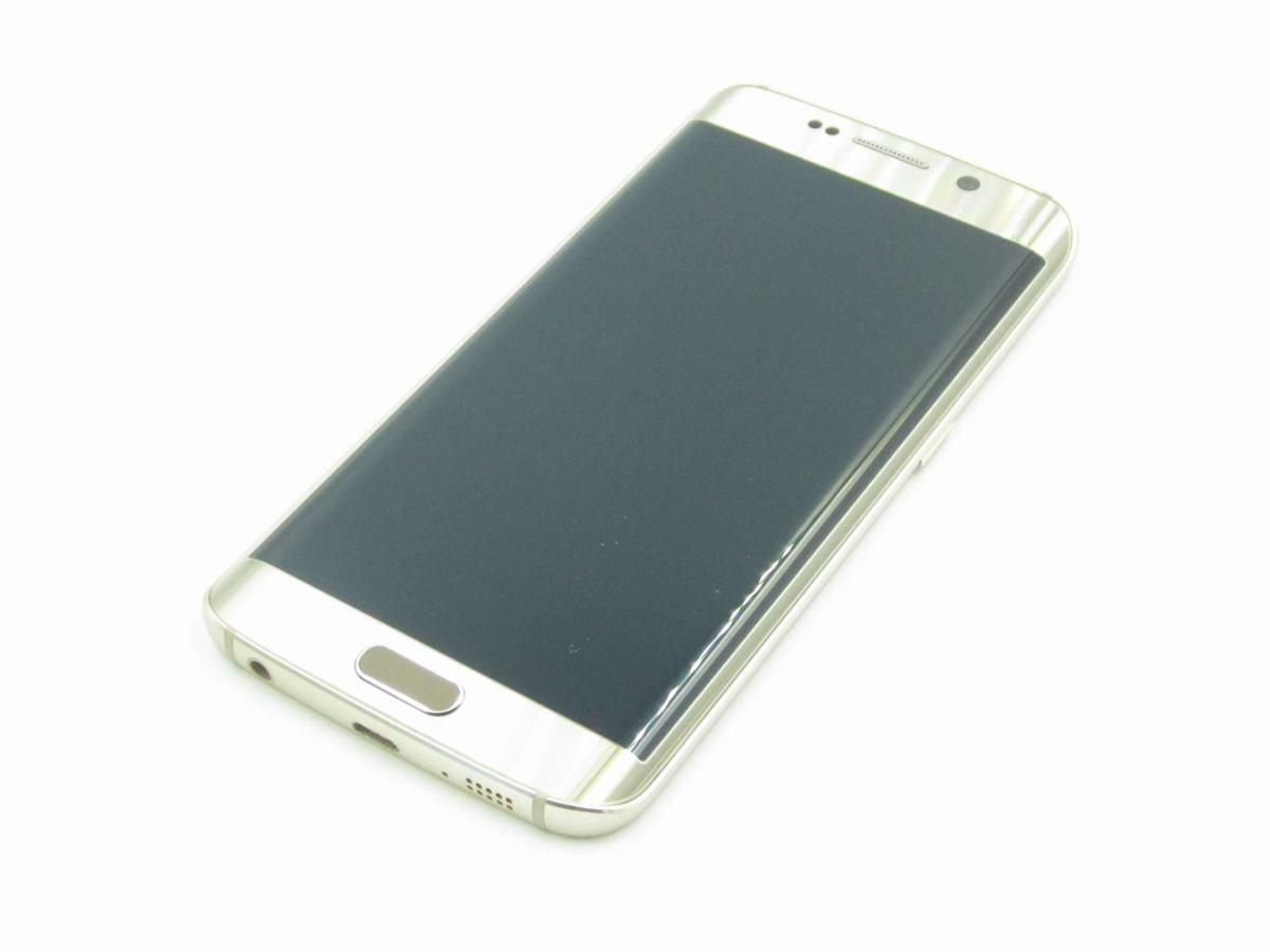 【美品 保証】softbank 404SC 64GB Galaxy S6(SAMSUNG)ゴールド 中古 スマホ 白ロム ギャラクシー サムスン ▲