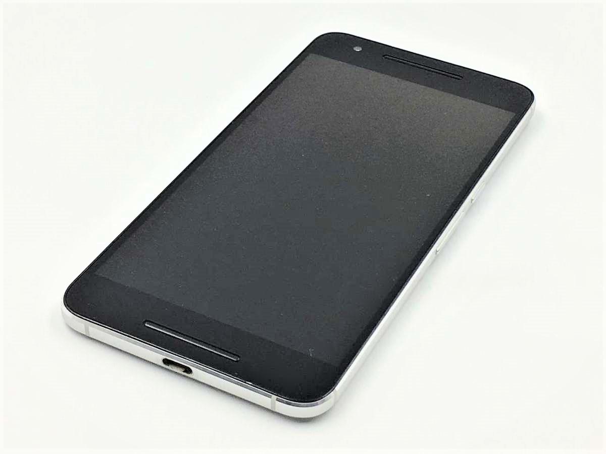 【美品 保証】Y'mobile Nexus6P 32GB シルバー 利用制限○ スマホ 白ロム ワイモバイル ネクサス