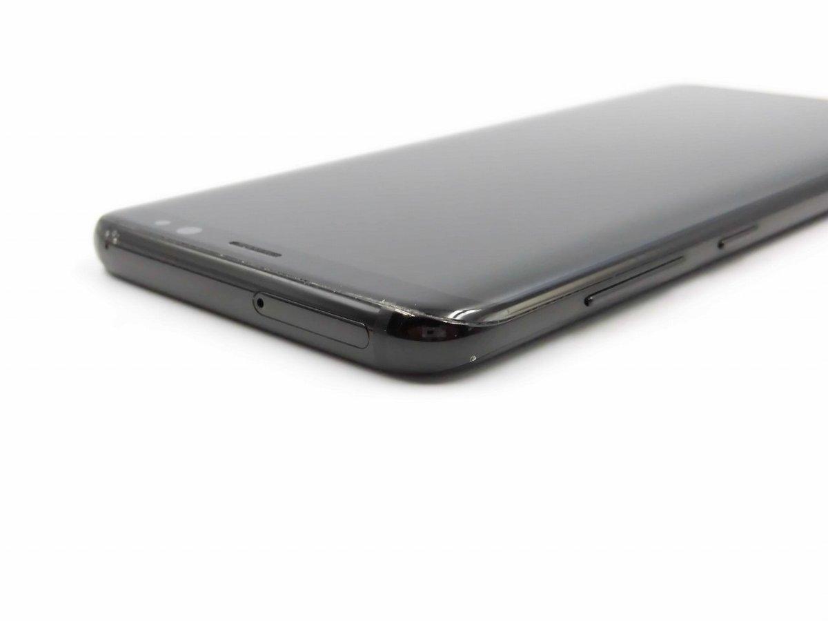 Among SIM-free SC-02J C rank Galaxy S8(SAMSUNG) Blacklock cancellation  finished Old