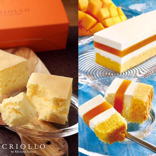 レアチーズ・マンゴー&幻のチーズケーキ
