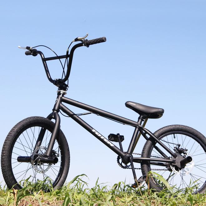 BMX 自転車 20インチ BMX 前後ディスクブレーキ 街乗り ペグ ジャイロ BMX ハンドル 自転車 通販【送料無料】※沖縄・離島は発送不可